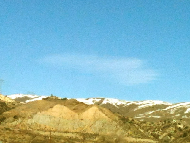 Blue Skies, Snowy Hills