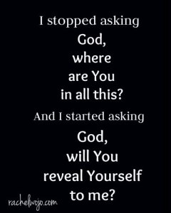 reveal yourself god